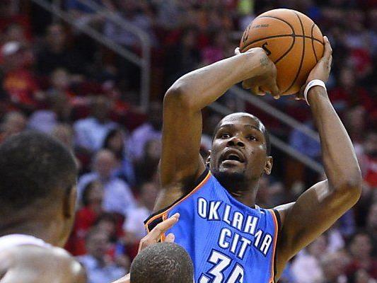 Durant trifft und trifft in der NBA