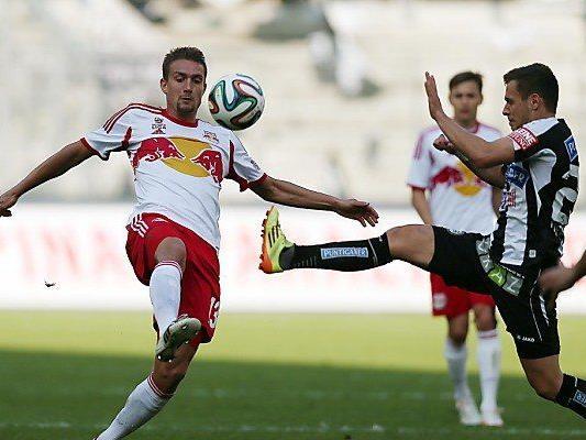 Salzburg ging in Führung, Sturm konterte