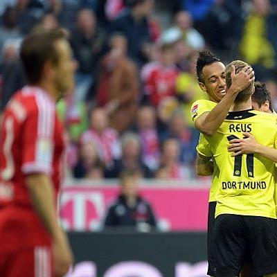 Bayern ist zwar Meister, trotzdem jubelt Dortmund