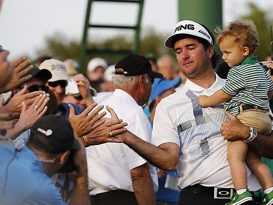 Watson feierte den Erfolg mit seinem Sohn