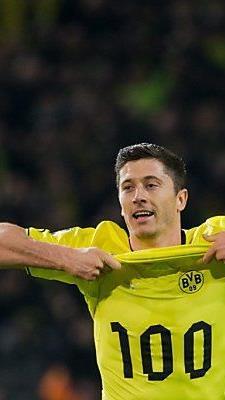 Stürmerstar Lewandowski schoss das 2:0