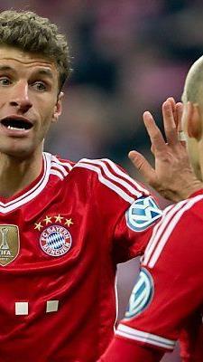 Thomas Müller verwandelte einen Elfmeter