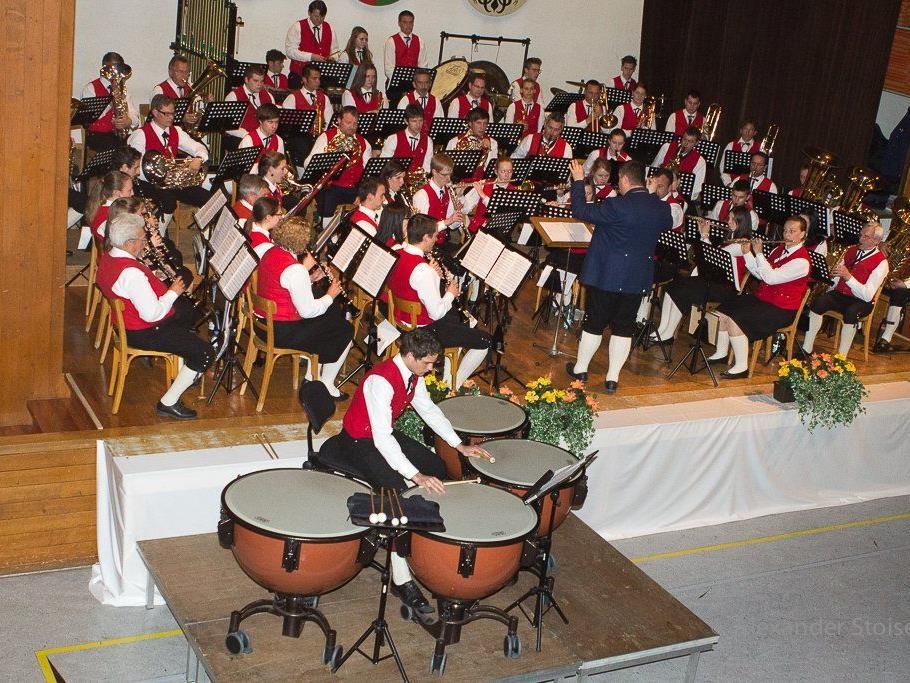 Ein hervorragendes Konzert gab die Harmoniemusik Vandans am Ostersonntag.