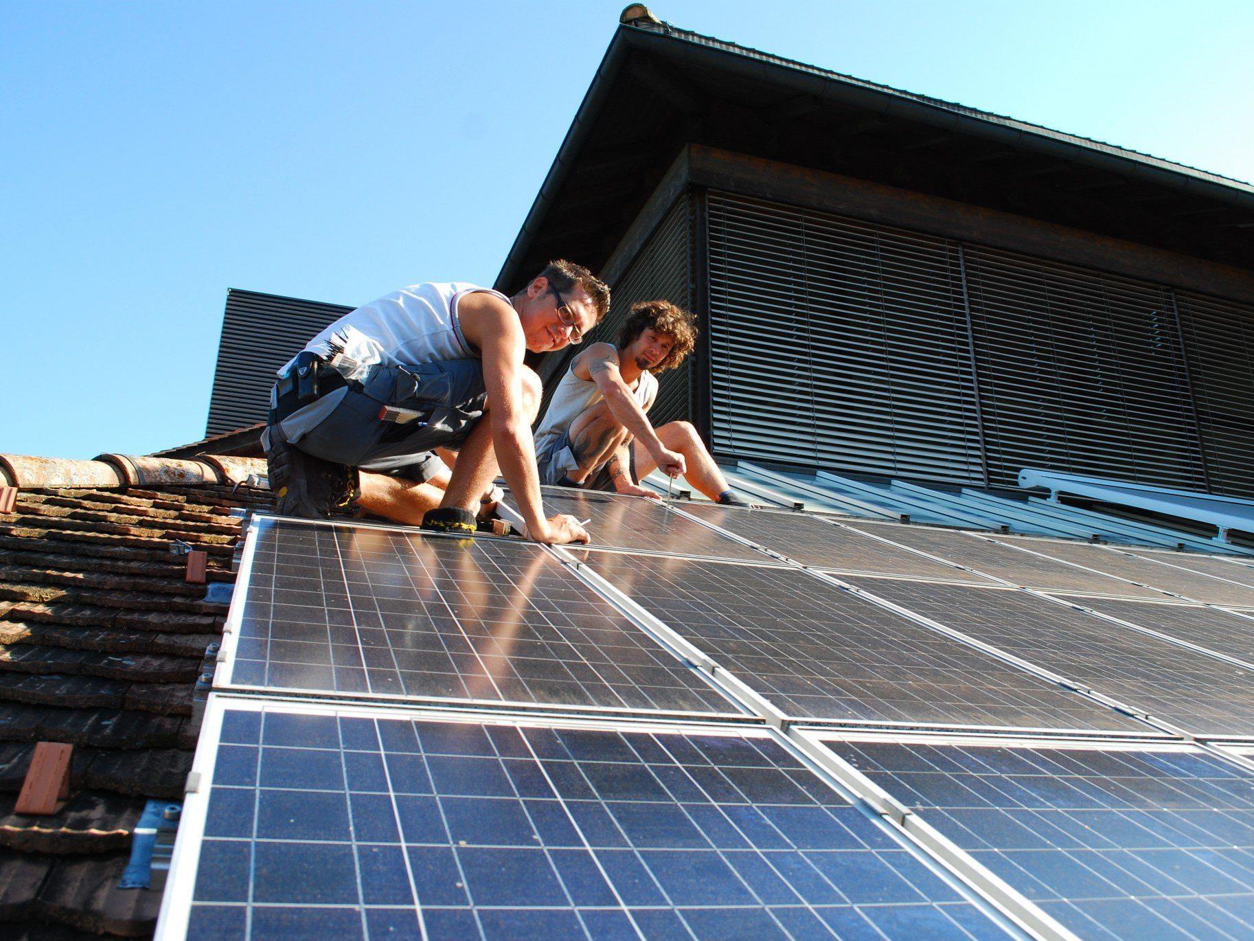 Informationsabend zur Sonnenenergie: Montag, 28. April, 20.00 Uhr, Vinomnasaal Rankweil