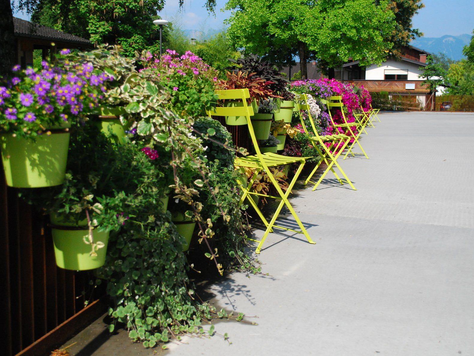 Der blühende Gartenzaun: Eines der Projekte, das vergangenes Jahr in Rankweil umgesetzt wurde.