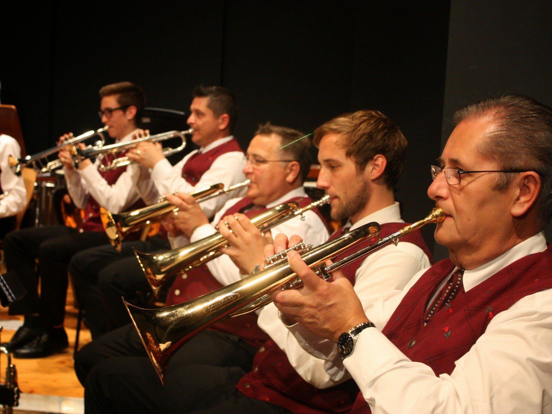 Der Musikverein Concordia Lustenau brillierte beim Frühjahrskonzert im Reichshofsaal