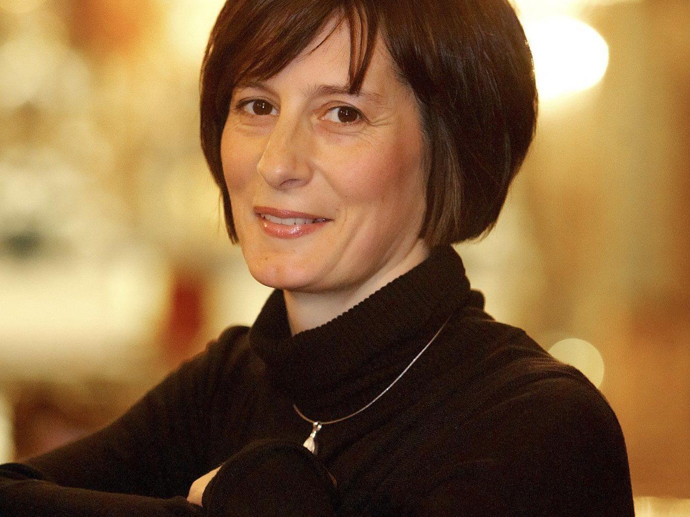 Annelies Oberschmied - mit ihrer leuchtenden Sopranstimme wird sie die Zuhörer in der Basilika verzaubern.