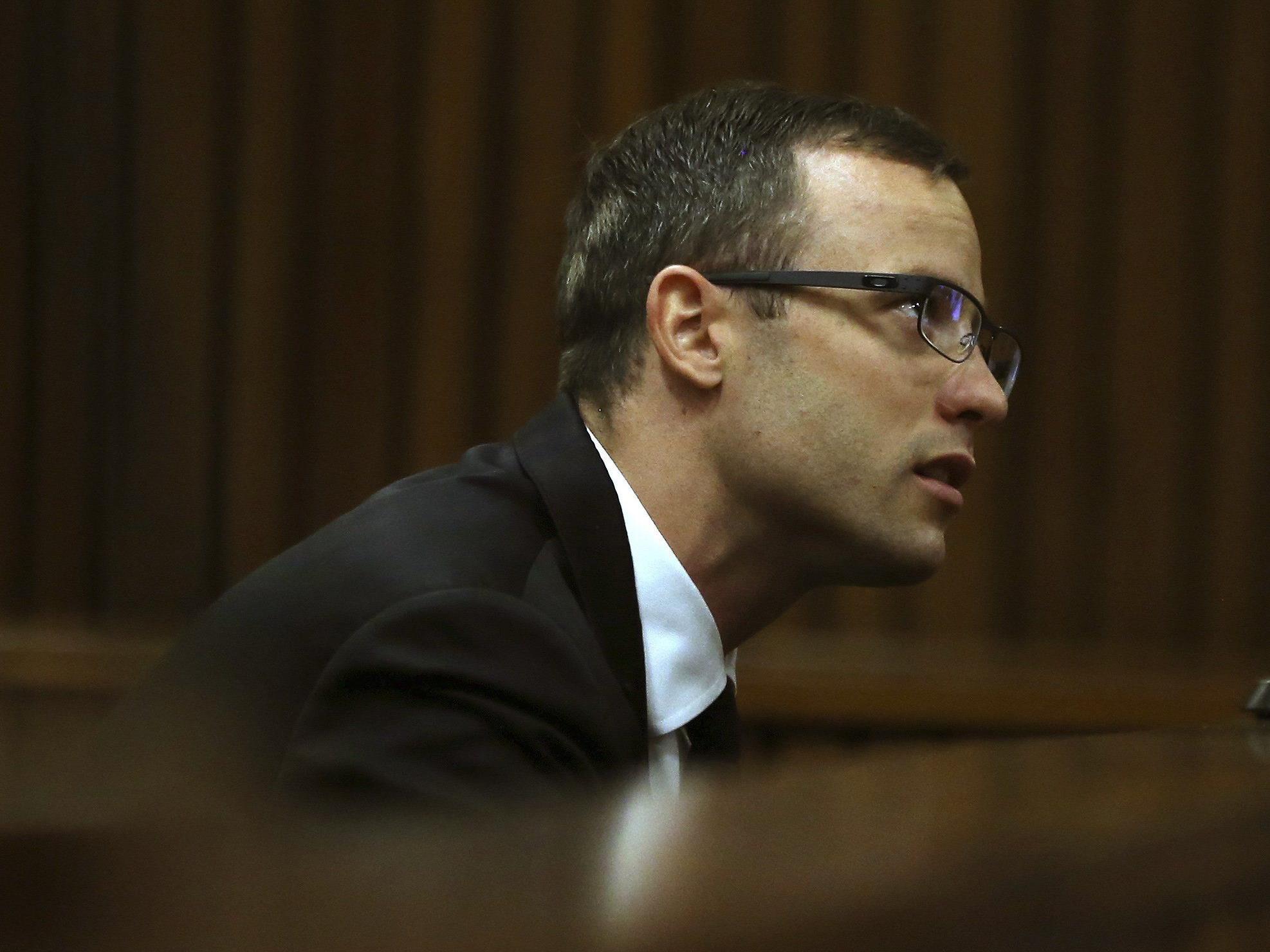 Pistorius-Prozess: Angeklagter schilderte Stunden der Mordnacht.