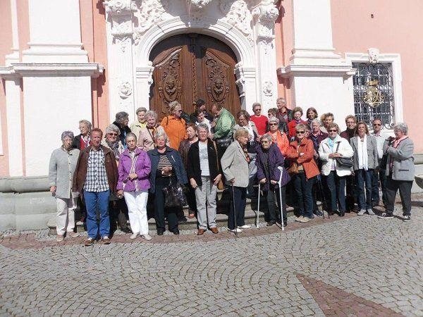 Ausflug zur Wallfahrtskirche Birnau des Pensionistenverbandes, Ortsgruppe Bregenz