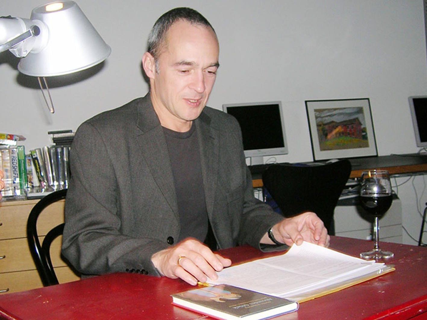 Auch der bekannte Krimiautor Stefan Slupetzky las schon in der Bücherei Hohenems.