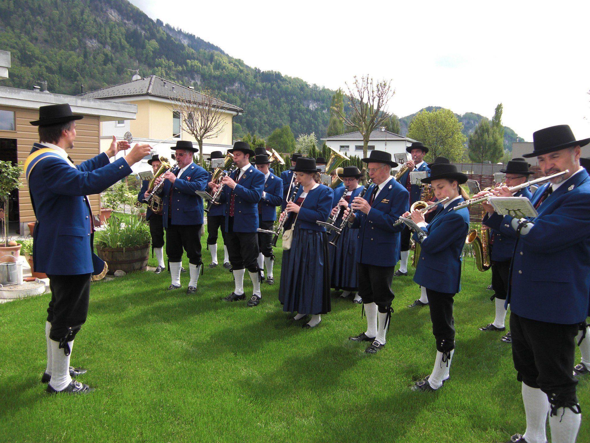 Tag der Blasmusik der Bürgermusik Hohenems