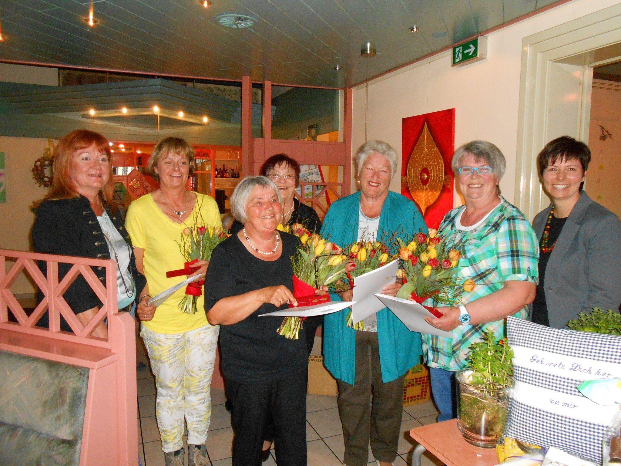 Jahreshauptversammlung mit anschließendem Preisjassen beim Frauenbund Rankweil.