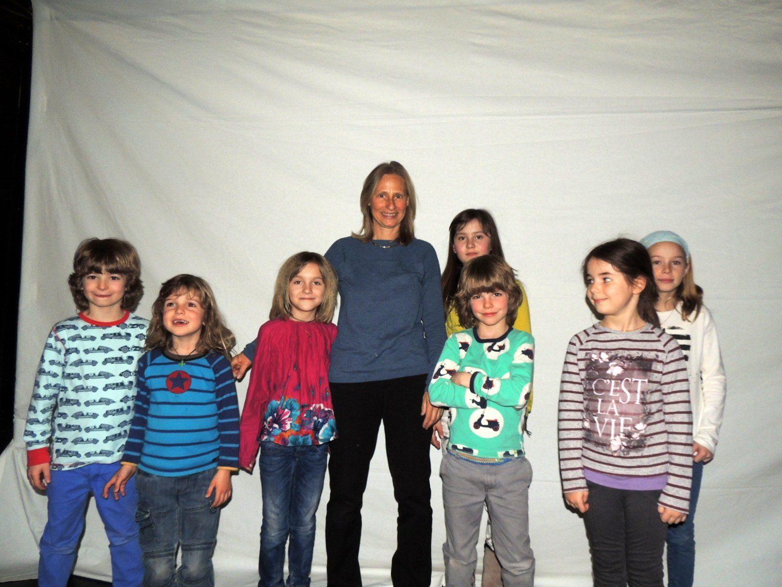 Die kleinen Schattenkünstler mit Theaterpädagogin Sabine Hennig