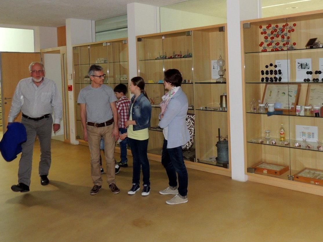 Die Besucher waren von der neuen Schule begeistert