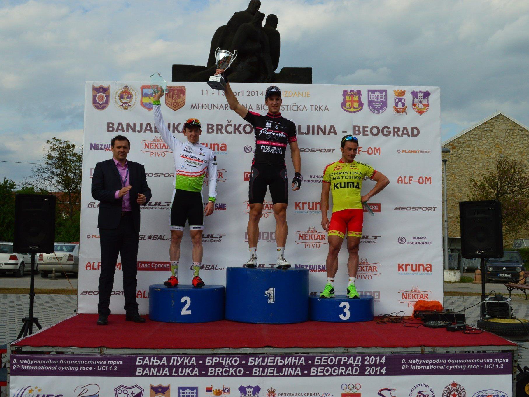 Team Vorarlberg Fahrer Fabian Schnaidt verpasste den Sieg ganz knapp aber wurde Zweiter