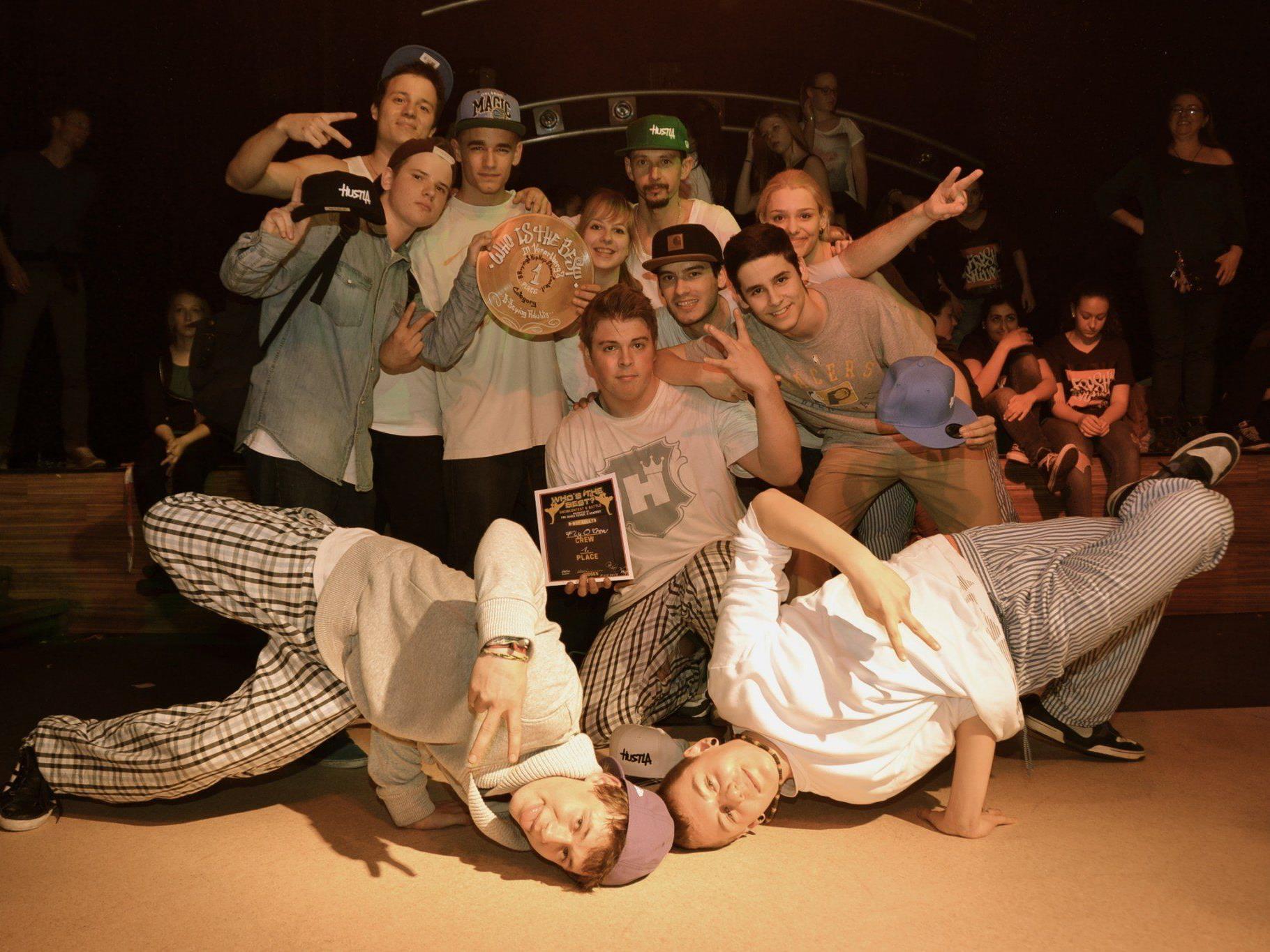 Die besten Hip Hop Tänzer zeigten ihr Können beim Contest im K-Shake in Röthis.