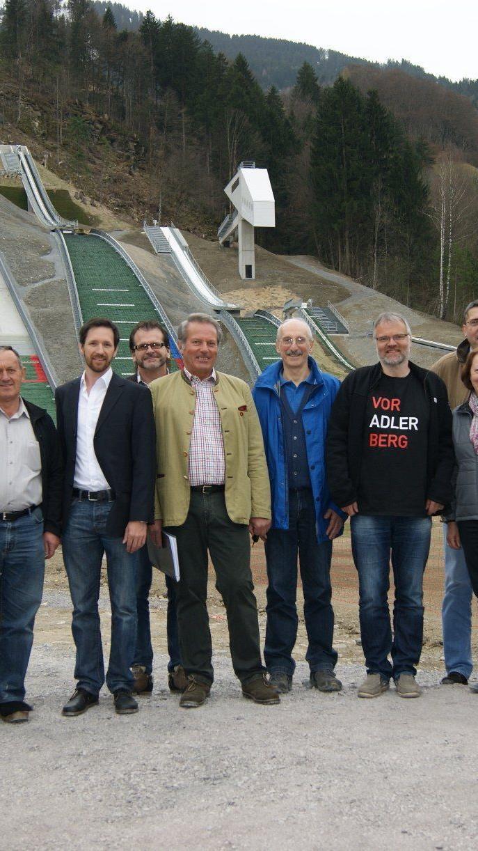 Die Evaluierungskommission besuchte das Montafon und gab sein OK für die Sportstätten.