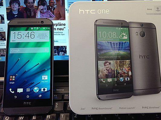 Das neue HTC One im Kurztest von VOL.AT.