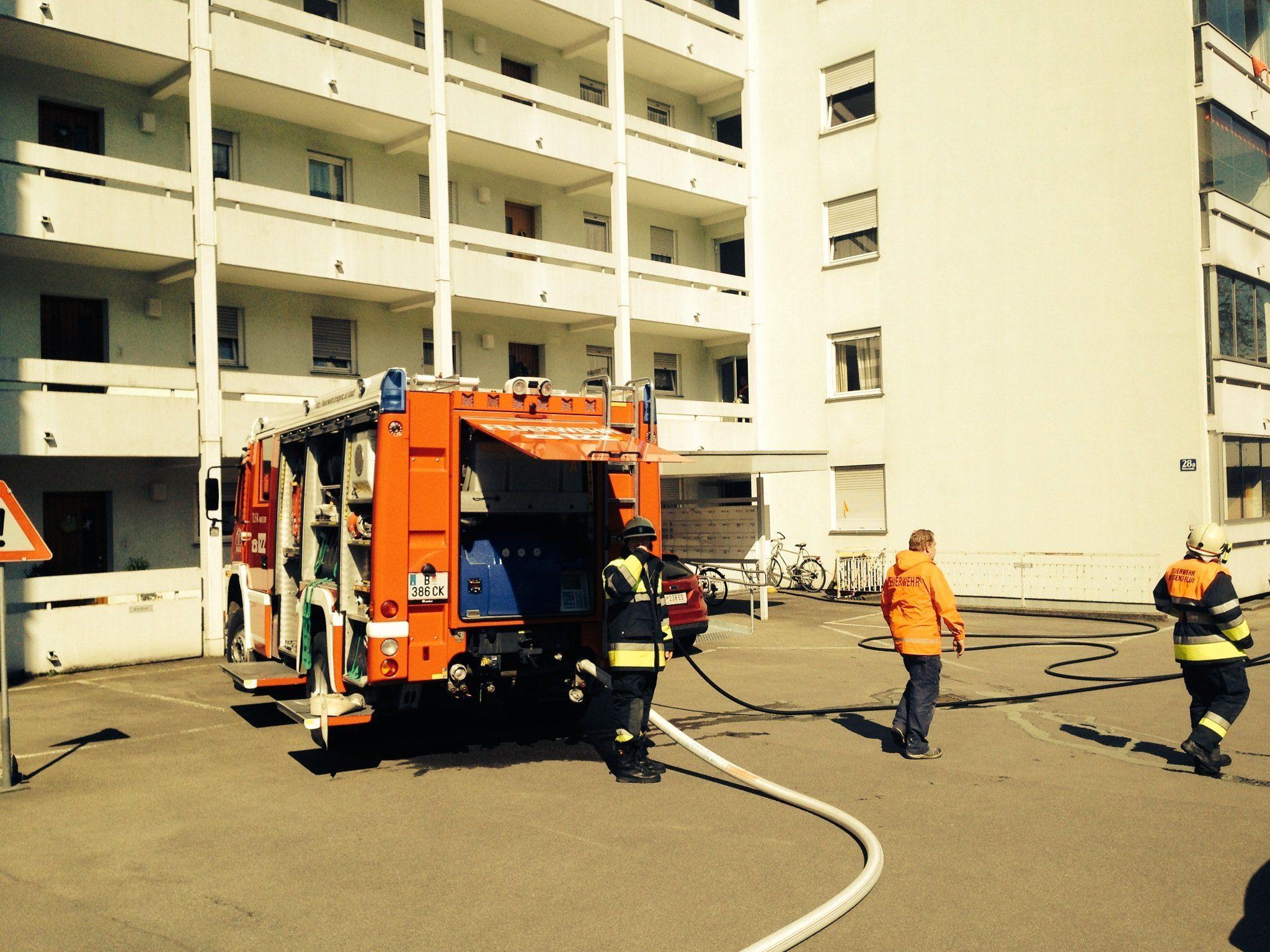Die starke Rauchentwicklung war das größte Problem für die Feuerwehr.