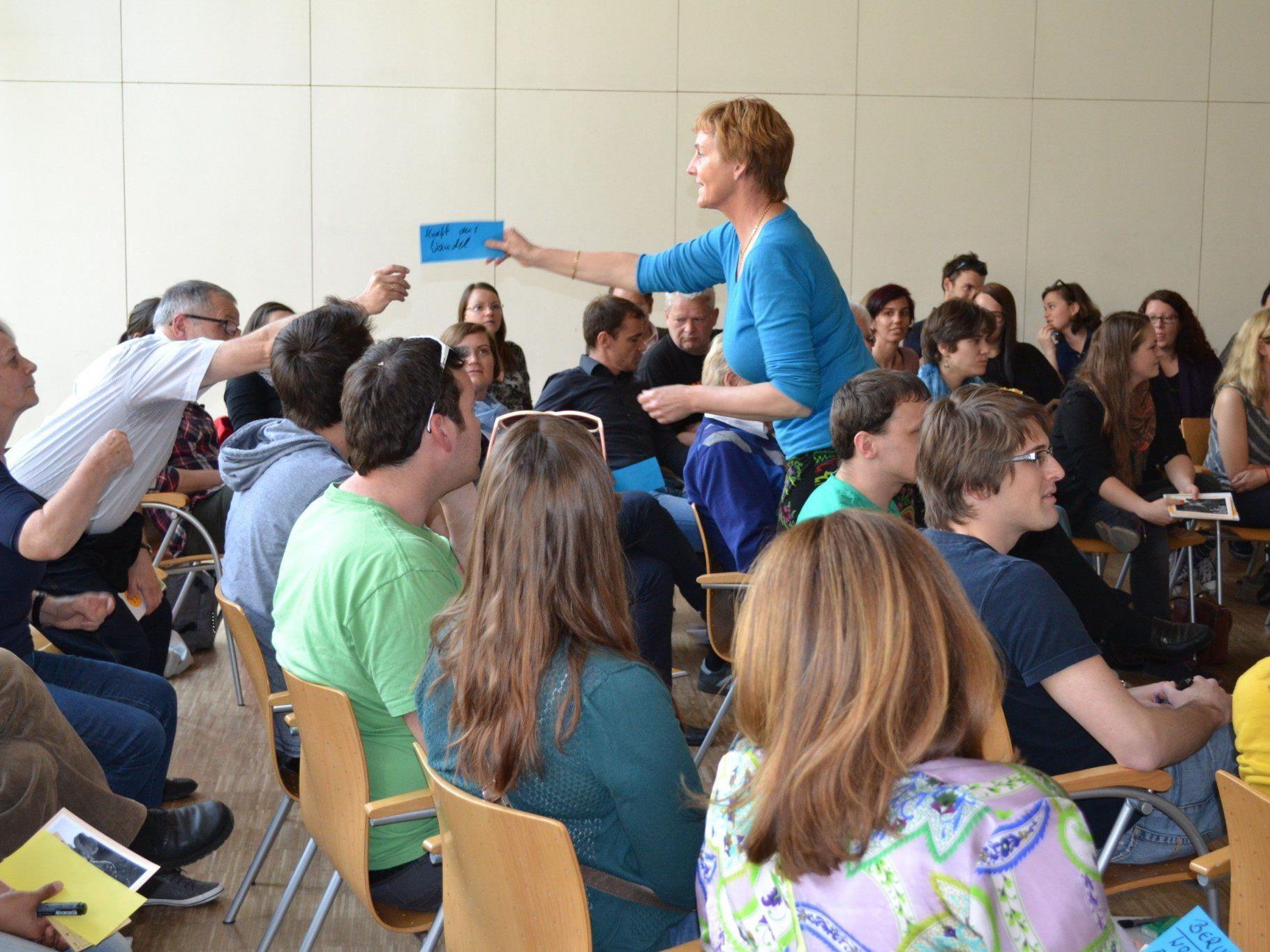 Interessanter Generationen-Talk im Bildungshaus St. Arbogast.