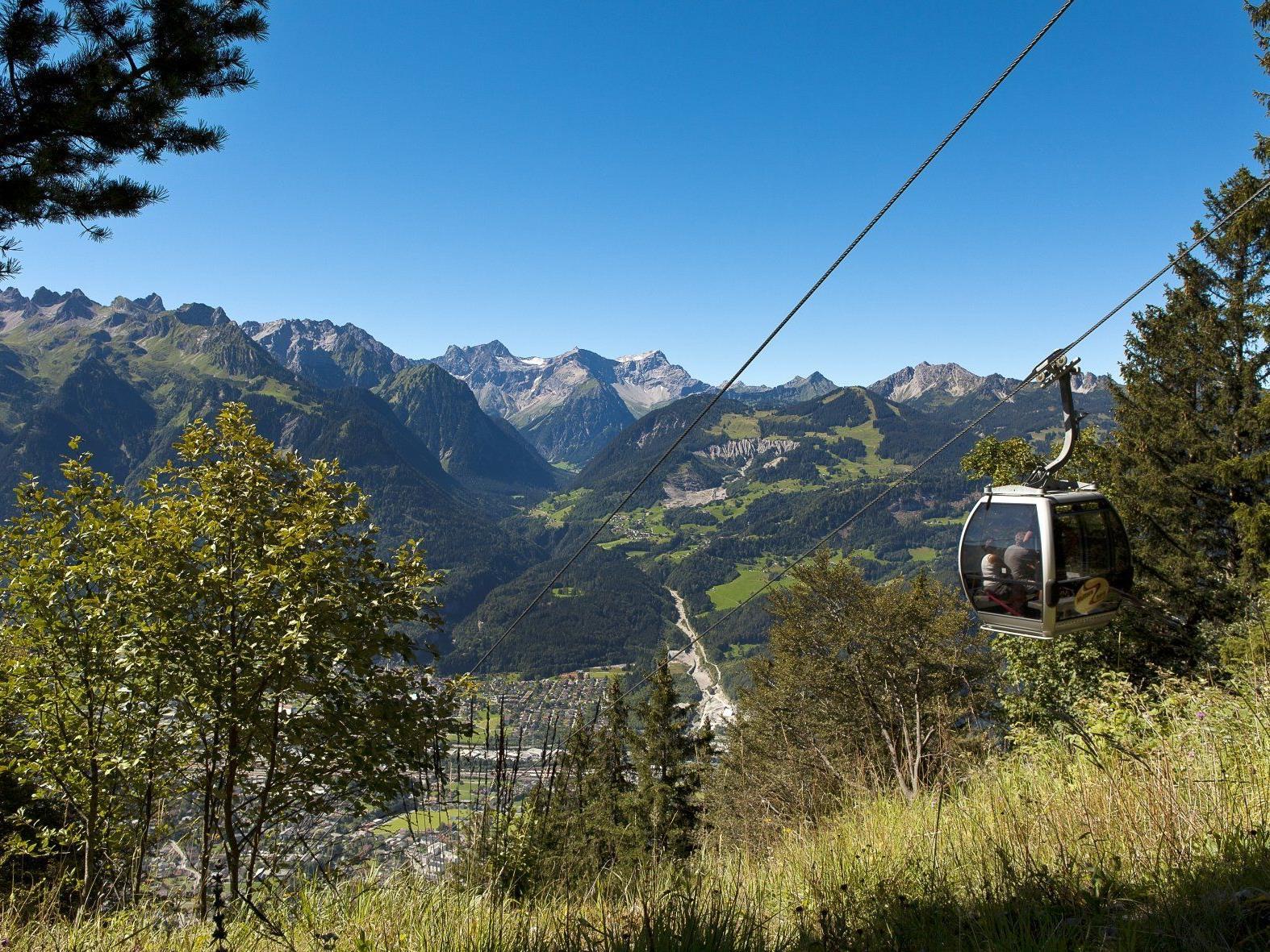 Die Muttersbergbahn ist vom 4. bis 27. April an den Wochenenden und ab 1. Mai durchgehend geöffnet.
