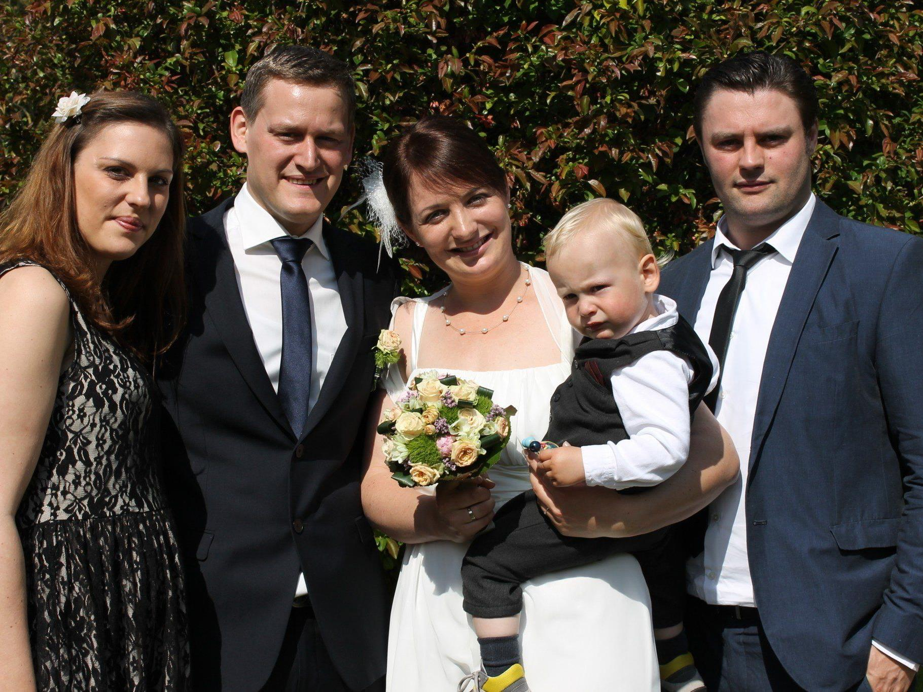 Am 26. April heirateten Melitta Burtscher und Patrik Auer