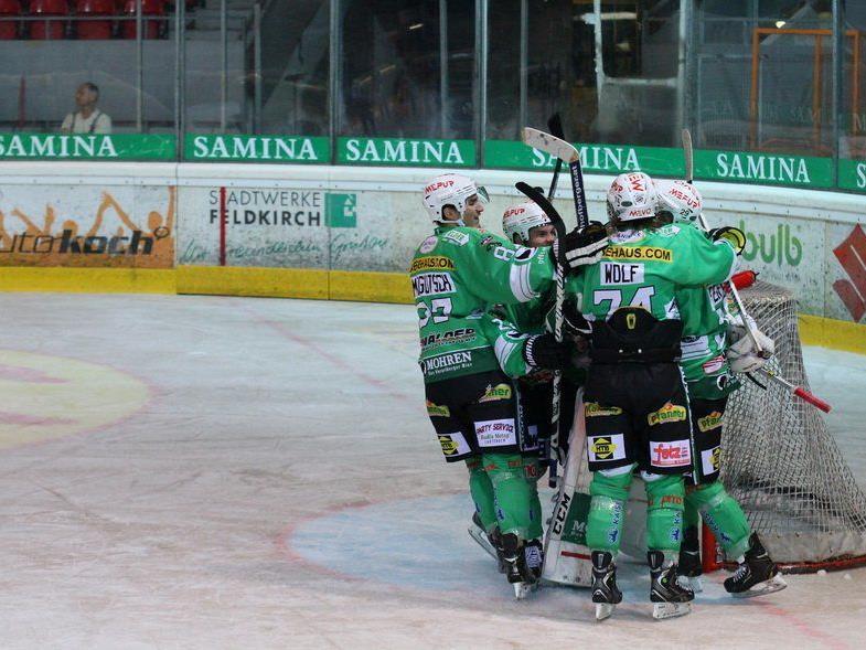 Drei Siege benötigt der EHC Bregenzerwald zur Titelverteidigung.