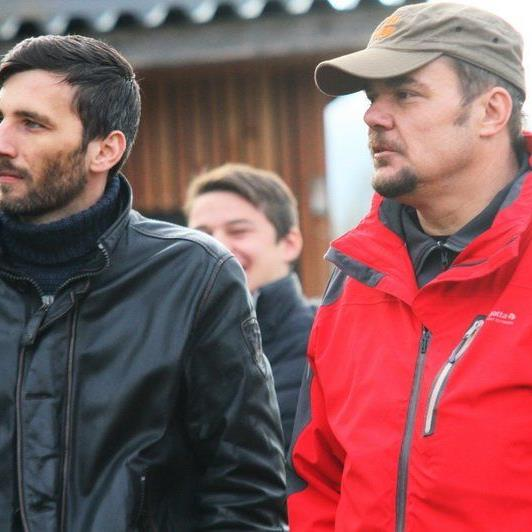 SW Bregenz-Präsident Pascal Pletsch und Sportwart Ewald Gisinger hoffen auf den Klassenerhalt.