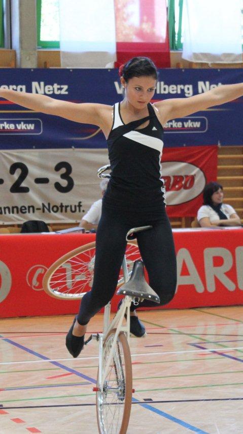 Die Meiningerin Adriana Mathis gilt als die große Favoritin auf den Landesmeistertitel.