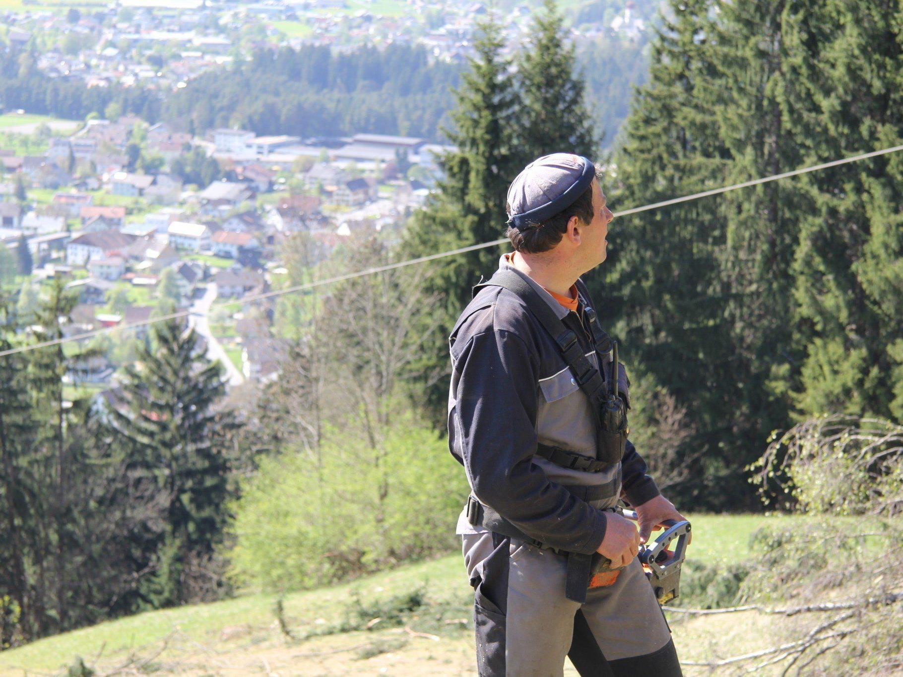 Jürgen Burtscher will für die Bergbauern in Vorarlberg kämpfen.