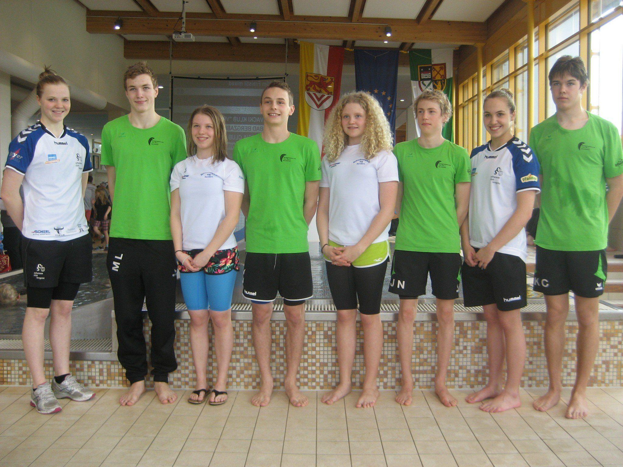 Vorarlberger KaderschwimmerInnen in Bad Bergzabern