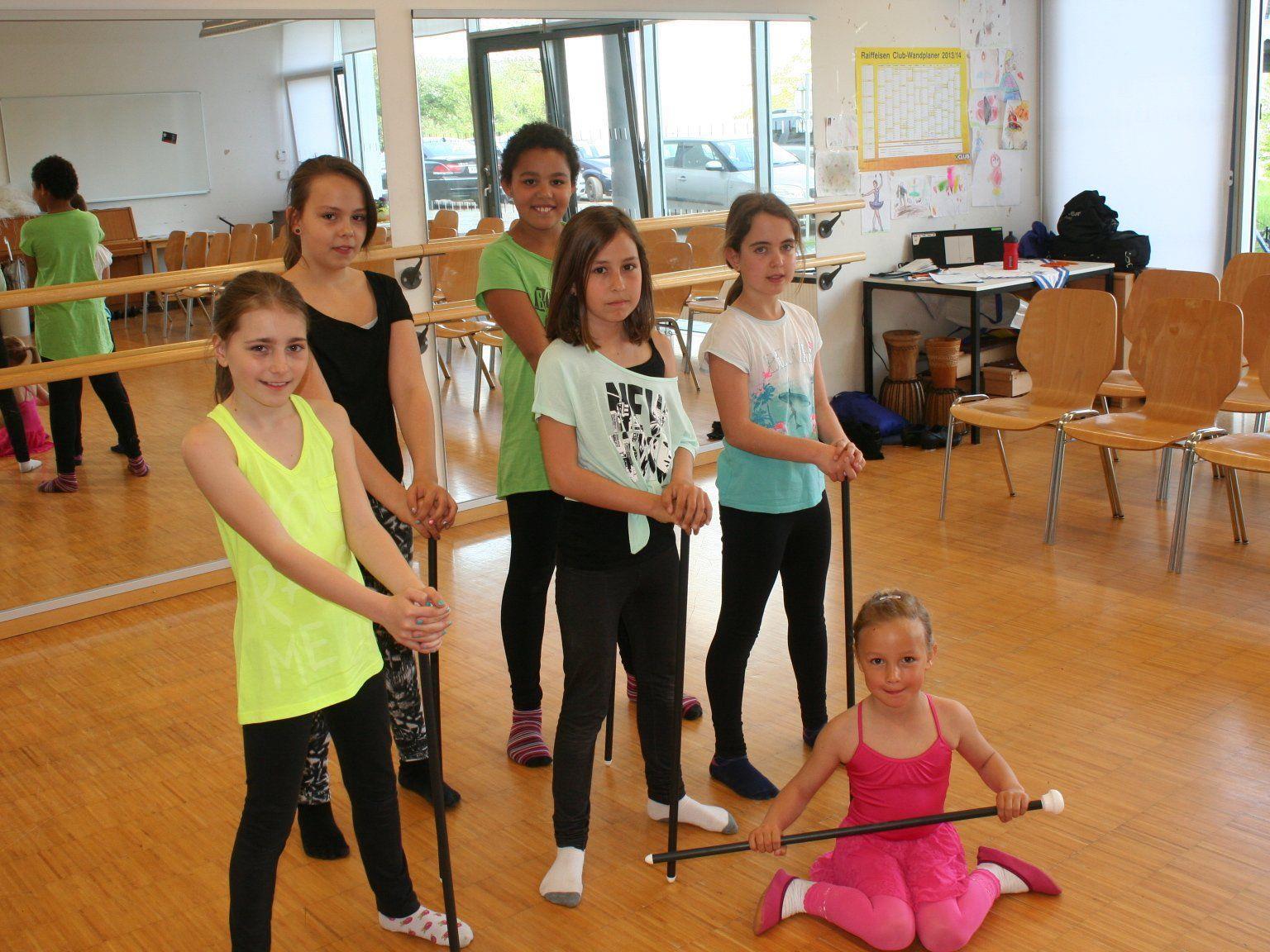 Ballettgruppe der MS Leiblachtal