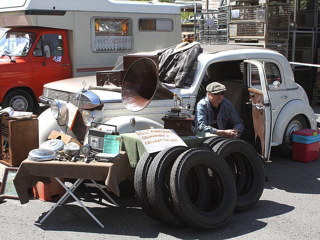 Zum 15. Mal findet der Oldtimer Teilemarkt in Rankweil statt.