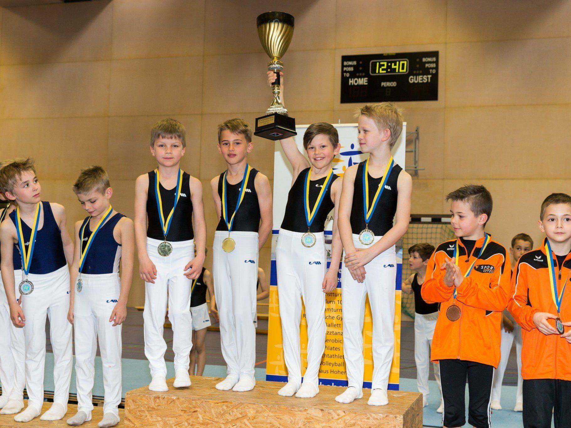 TS Wolfurt gewann den Zimmermann Cup.