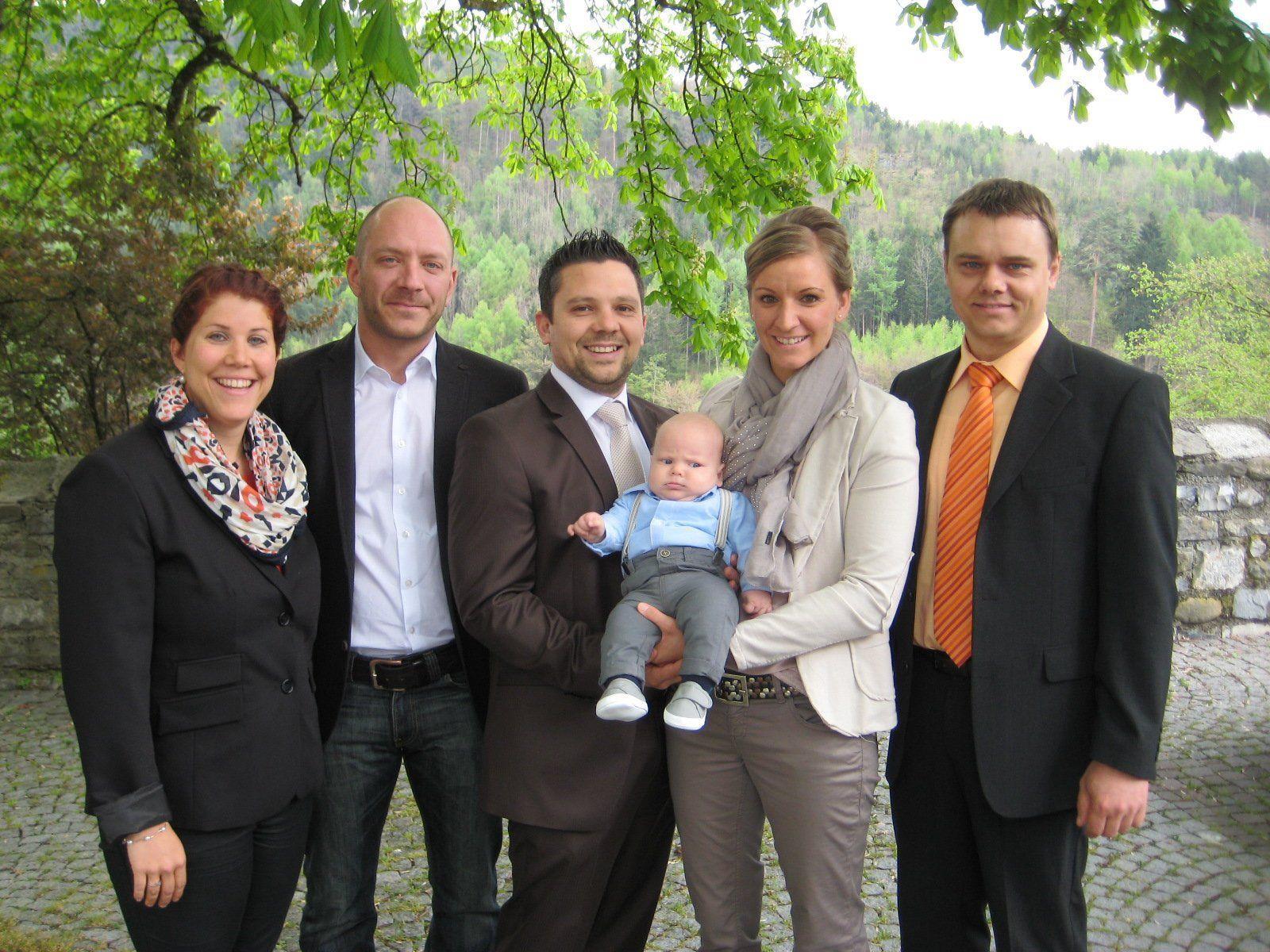 Luis Mathies wurde getauft.