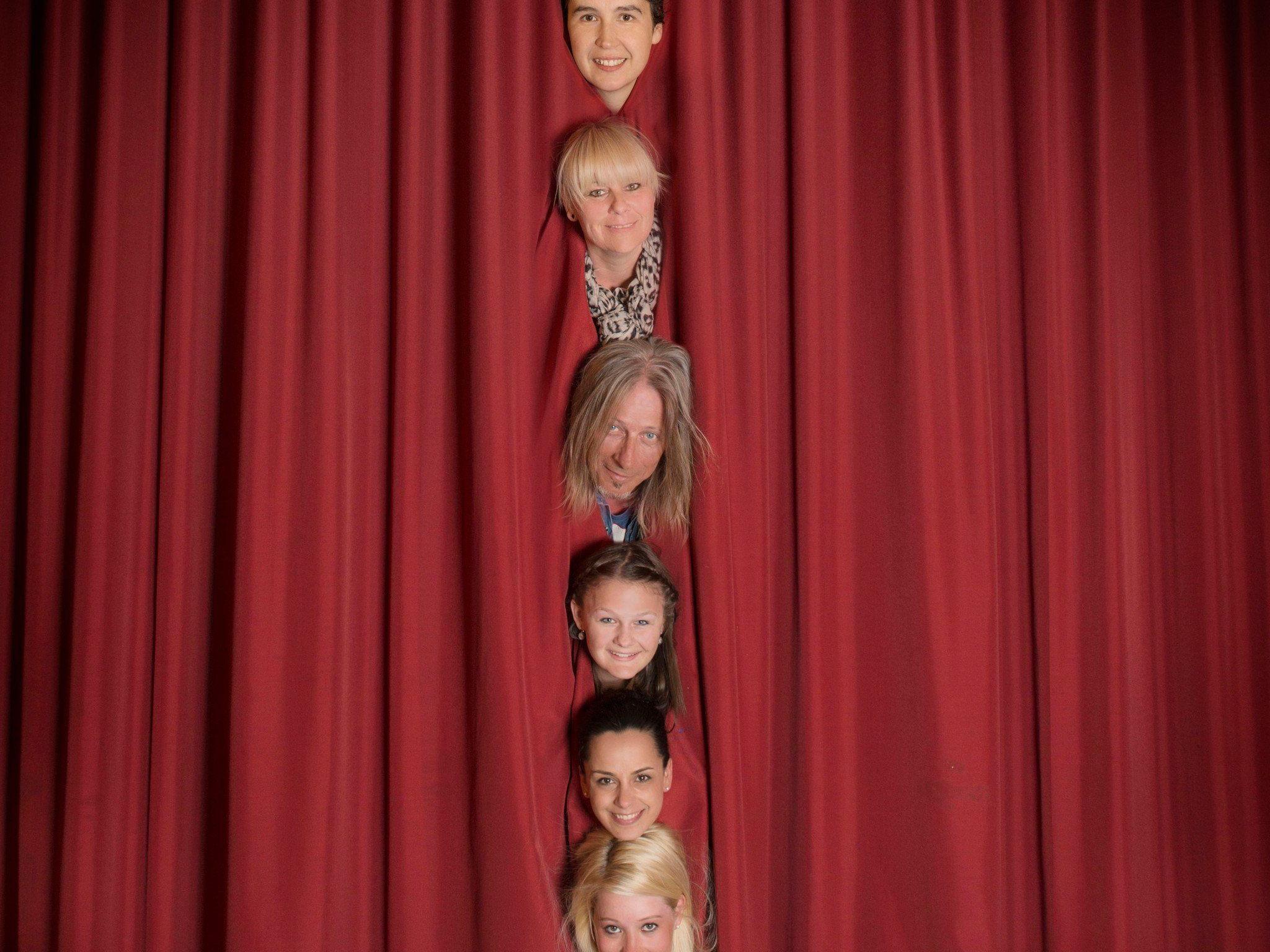 Die neuen Talente treten am kommenden Samstag den 26.4. zum ersten Mal vor den Vorhang auf der Kulturbühne Schruns.