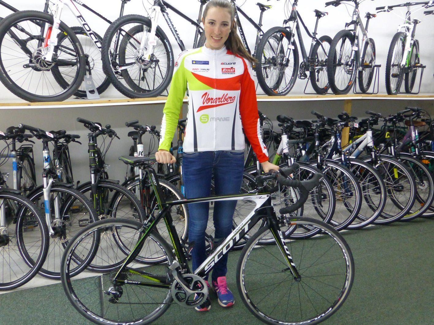 Die Teilnahme an der Jugendolympiade ist das große Ziel von Melanie Amann für 2014.
