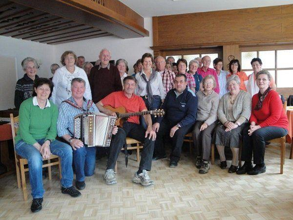 Bergfrühstück des Pensionistenverbandes Mittel- und Hinterwald