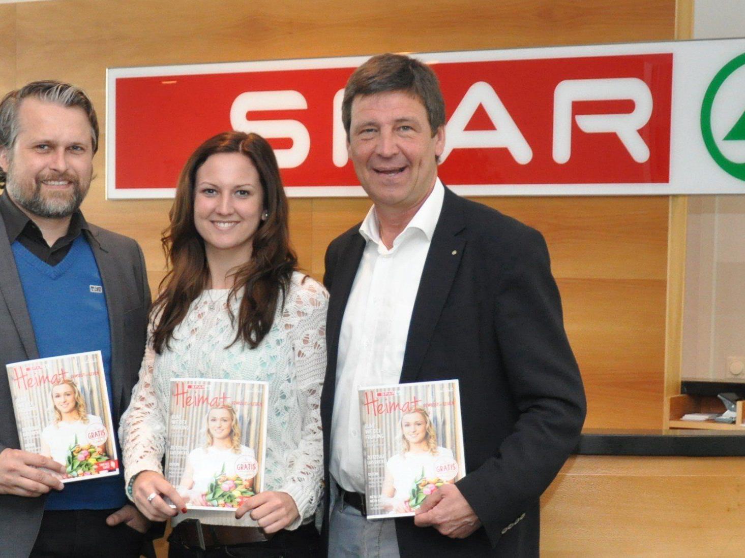 Spar Vorarlberg hat ein neues Magazin für die Kunden und die Bevölkerung herausgebracht.