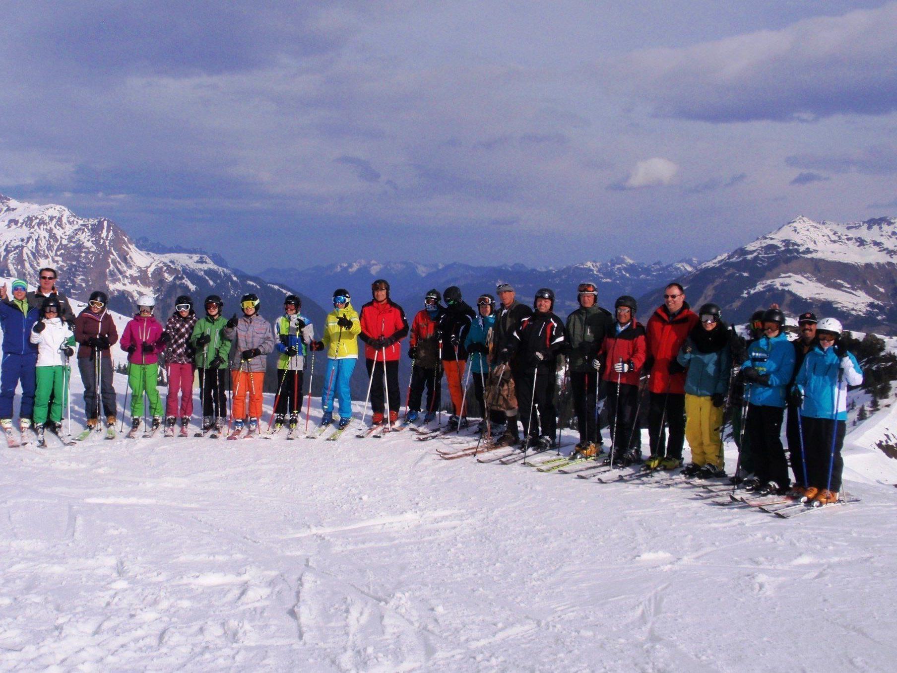 Ein toller Skitag.