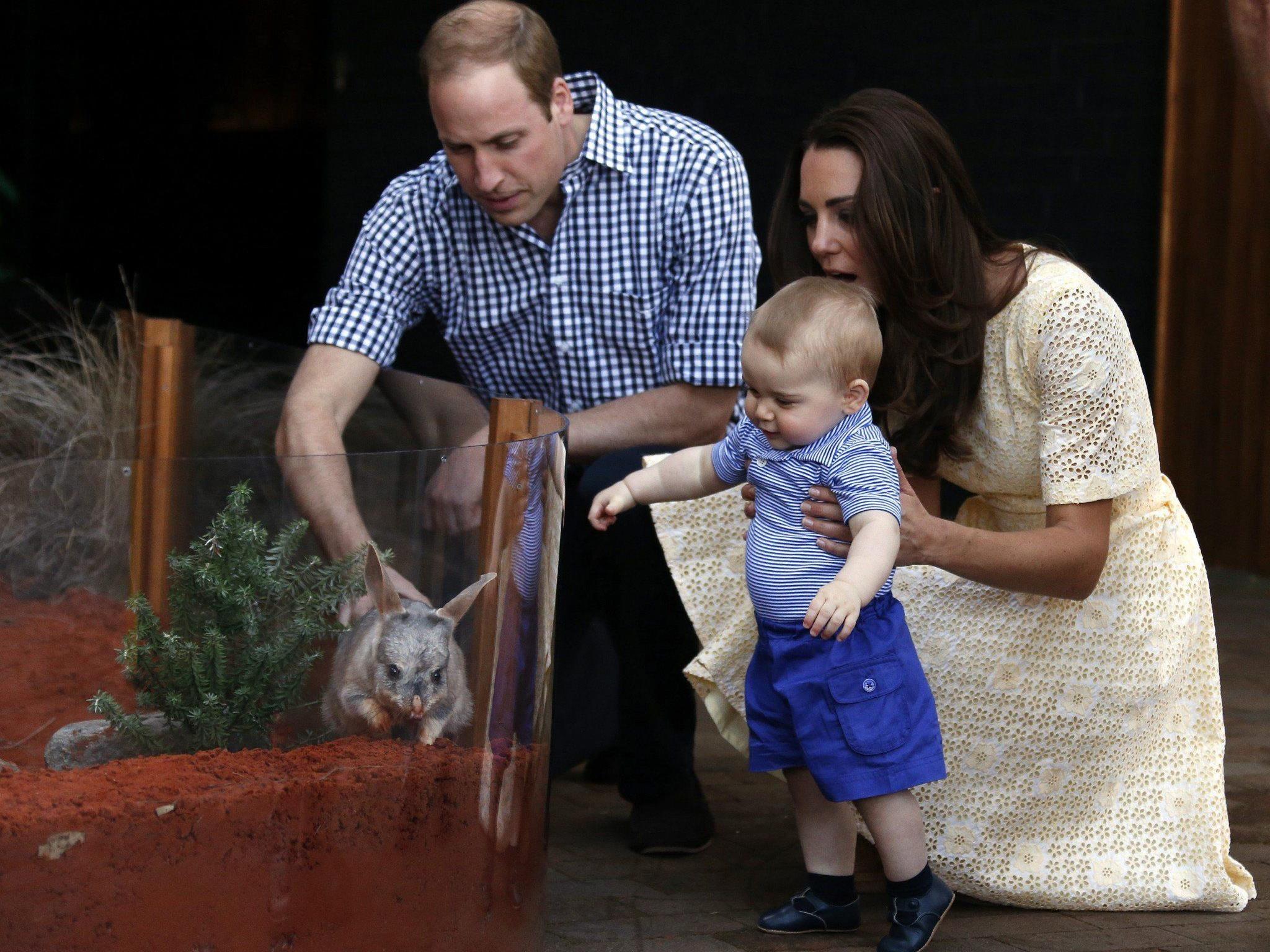 Besuch der Royals in Sydneys Zoo.