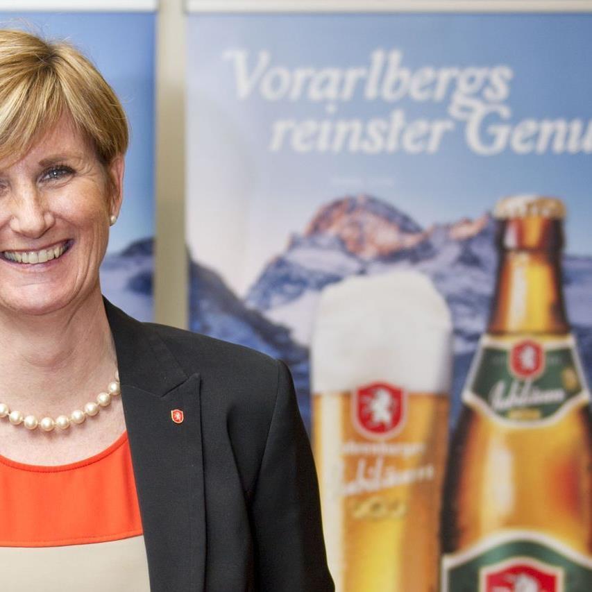 Seit sechs Jahren ist Sabine Treimel Marketingleiterin der Brauerei Fohrenburg.