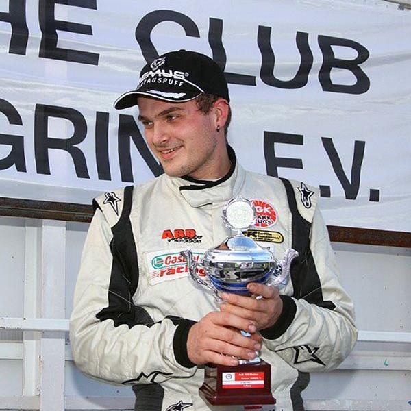 Der Bludescher Sandro Bickel fuhr in seinem ersten Rennen für den neuen Rennstall auf das Podest.