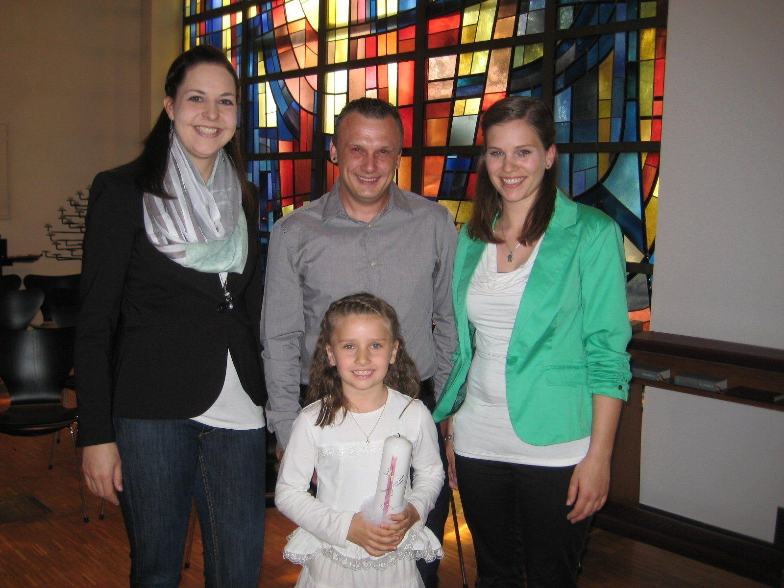 Lea Oetting wurde getauft.