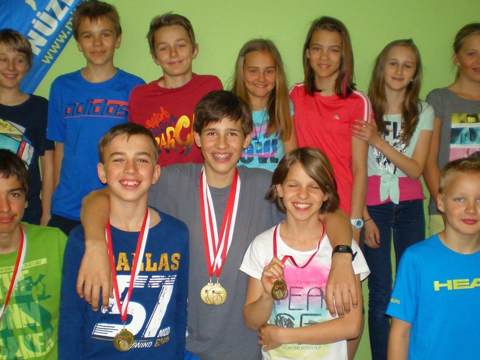 Haben sich für die Bundesmeisterschaft in Dornbirn für Mai qualifiziert.