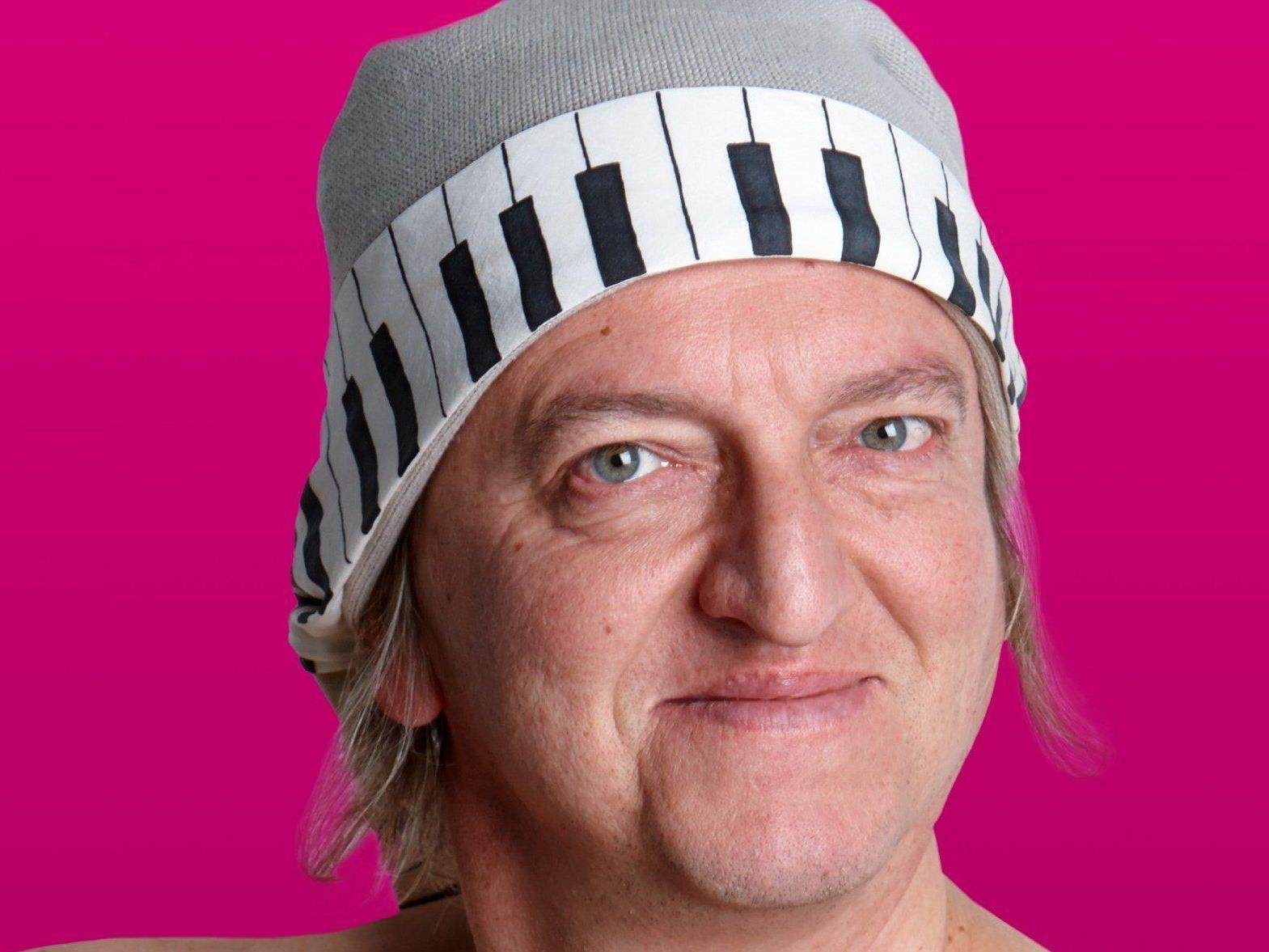 """Markus Linder auf """"Tasta-Tour"""" am kommenden Freitag, 25.April in der Kulturbühne Schruns"""