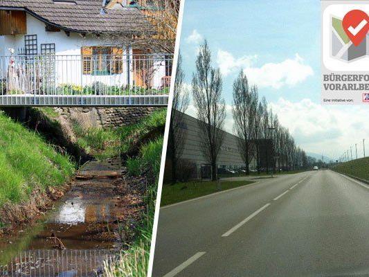 Die Situation am Gerbebach habe sich bereits verbessert, der Radweg für die L203 ist in Arbeit.
