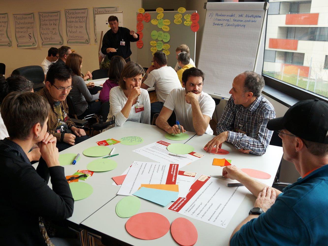 Rund 80 interessierte Personen nahmen am Trialog-Workshop in Götzis teil.