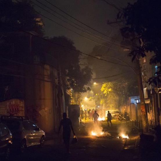 Ausschreitungen in Rio