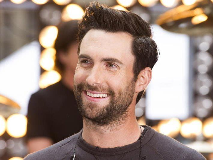 Auch Sänger Adam Levine ließ die Haare sprießen